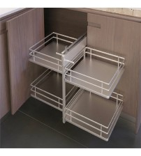 Infinity Easy Access Corner Cabinet Pull Out Storage
